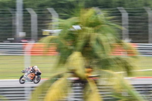 2017 Moto3 Championship - Round 17 Sepang, Malaysia. Friday 27 October 2017 Ayumu Sasaki, SIC Racing Team World Copyright: Gold and Goose / LAT Images ref: Digital Image 25073