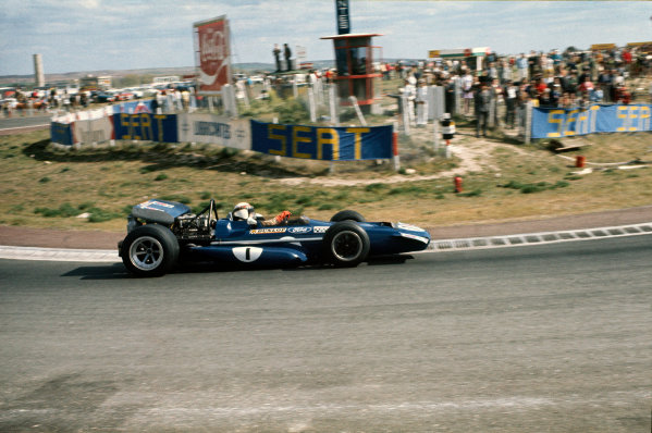 Jarama, Madrid, Spain. .17-19 April 1970.  Jackie Stewart, March 701 Ford, 1st position.  Ref: 70ESP05. World Copyright: LAT Photographic