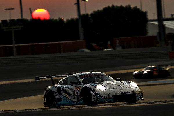 #56 Team Project 1 Porsche 911 RSR: Egidio Perfetti, Larry Ten Voorde, Jorg Bergmeister
