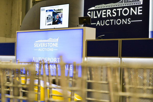 The Silverstone Auctions stage