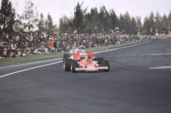 1970 Mexican Grand Prix.Mexico City, Mexico.23-25 October 1970.Reine Wisell (Lotus 72C Ford).Ref-70 MEX 04.World Copyright - LAT Photographic