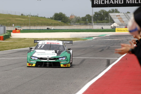 Race winner Marco Wittmann, BMW Team RMG, BMW M4 DTM.