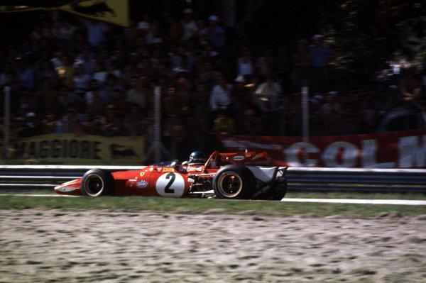 1970 Italian Grand Prix.Monza, Italy.4-6 September 1970.Jacky Ickx (Ferrari 312B).World Copyright - LAT Photographic