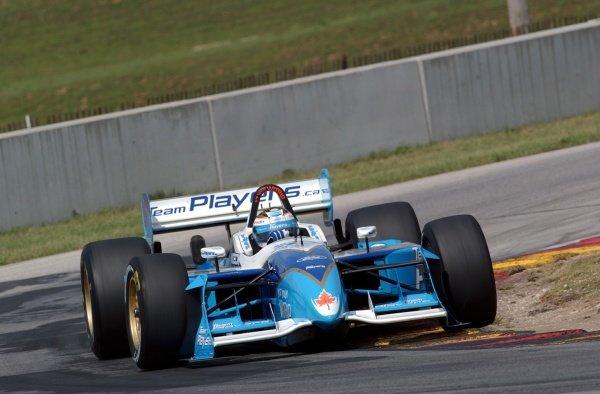 CART FedEx Championship Series.Grand Prix of Road America, Round 12August  16-18, 2002.Elkhart Lake, Wisconsin, USAAlex Tagliani (CDN)Digital Image