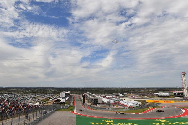 Sergio Perez (MEX) Force India VJM09 at Formula One World Championship, Rd18, United States Grand Prix, Race, Circuit of the Americas, Austin, Texas, USA, Sunday 23 October 2016.