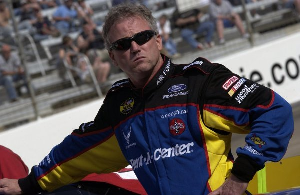 03/26/04 NASCAR Nextel Cup Series.Round 6 of 36. Food City 500. Ricky Rudd. Bristol, Tennessee, USA.