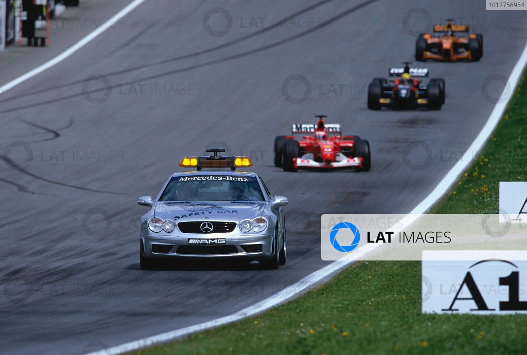 2002 Austrian Grand Prix.