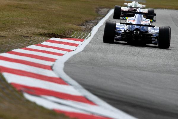 2016 British Formula 4 Championship, Snetterton, Norfolk. 29th - 31st July 2016. Petru Florescu (ROM) Carlin Ford British F4. World Copyright: Ebrey / LAT Photographic.
