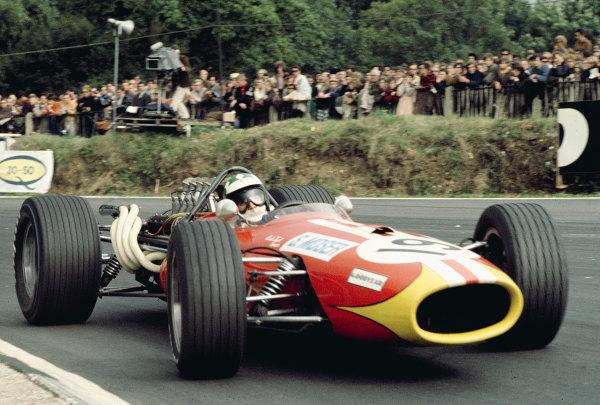 1968 British Grand Prix.Brands Hatch, England.18-20 July 1968.Silvio Moser (Brabham BT20 Repco).Ref-68 GB 24.World Copyright - LAT Photographic