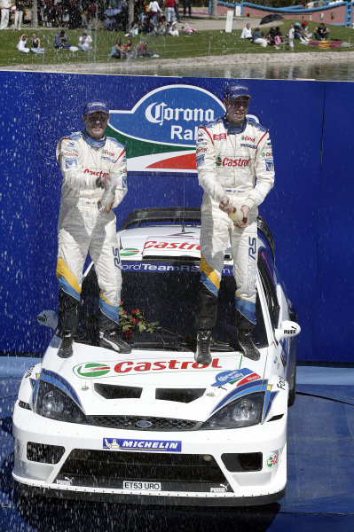 2004 FIA World Rally Champs. Round three, Corona Rally Mexico.
