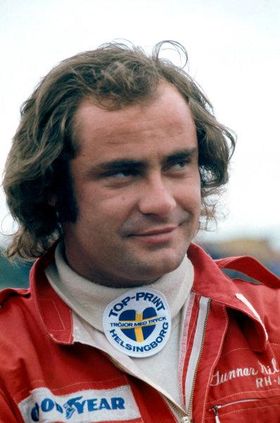 Formula One DriversGunnar Nilsson, portrait.World Copyright: LAT Photographic