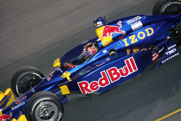 Patrick Carpentier (CAN), Red Bull Cheever Racing Dallara Toyota, finishes third in the Suntrust Indy 300. IRL IndyCar Series, Rd7, Suntrust Indy 300, Richmond International Raceway, Richmond, Virginia, USA. 24-25 June 2005. DIGITAL IMAGE