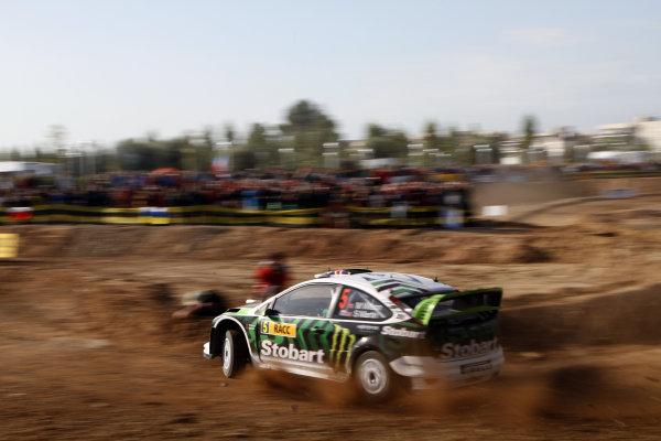 Round 12Rally Spain 21-24 October 2010Matthew Wilson, Ford WRC, ActionWorldwide Copyright: McKlein/LAT