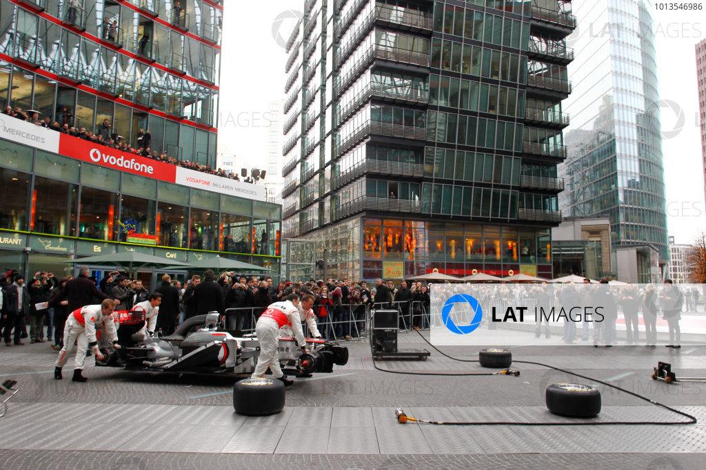 2011 McLaren MP4-26 Launch