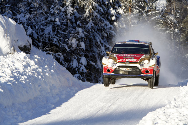 Round 01-Rally Sweden. 10th-13th February 2011.Martin Prokop, Ford S2000, Action.Worldwide Copyright: McKlein/LAT