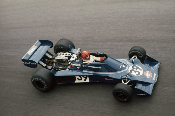 Monza, Italy. 10-12 September 1976. Otto Stupacher, Tyrrell 007 Ford, in practice. He failed to qualify but couldn't start the race despite being reinstated as he had already flown home to Vienna. Ref: 76ITA09. World Copyright - LAT Photographic