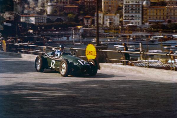 Monte Carlo, Monaco. 16-19 May 1957. Ivor Bueb, Connaught B-Alta. Ref: 57MON01. World Copyright - LAT Photographic
