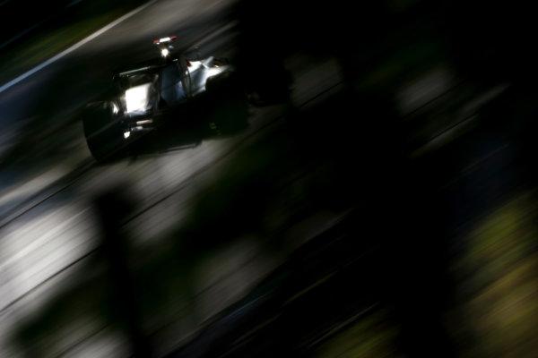 Autodromo Nazionale di Monza, Monza, Italy.9th September 2011.Michael Schumacher, Mercedes GP W02. Action. World Copyright: Andy Hone/LAT Photographicref: Digital Image _SP24127
