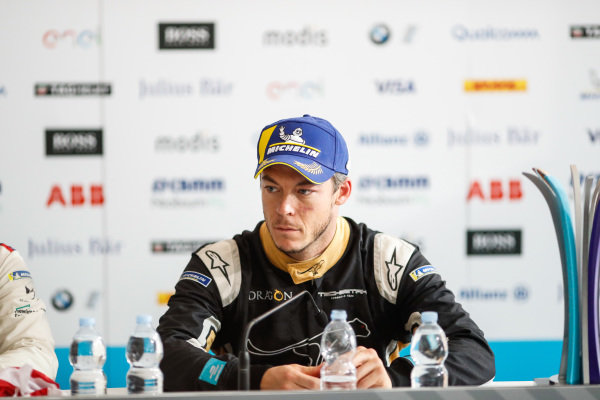 Andre Lotterer (BEL), TECHEETAH, Renault Z.E. 17, in the post race press conference.