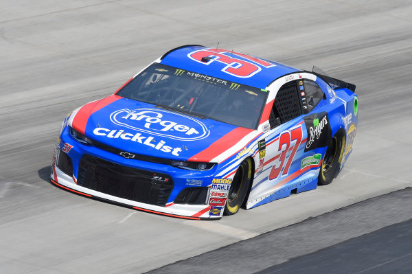 #37: Chris Buescher, JTG Daugherty Racing, Chevrolet Camaro Kroger Clickist