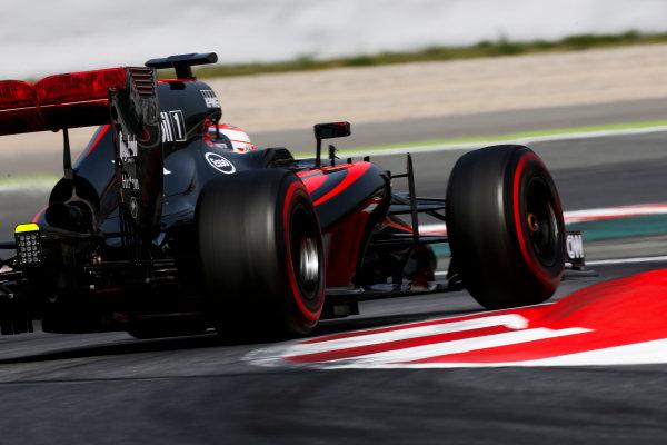 Circuit de Catalunya, Barcelona, Spain. Wednesday 13 May 2015. Jenson Button, McLaren MP4-30 Honda.  World Copyright: Alastair Staley/LAT Photographic. ref: Digital Image _79P5230