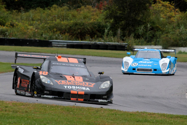 27-28 September, 2013, Lakeville, Connecticut USA The #10 Corvette DP of Jordan Taylor and Max Angelelli is shown in action during practice. ©2013, R.D. Ethan LAT Photo USA