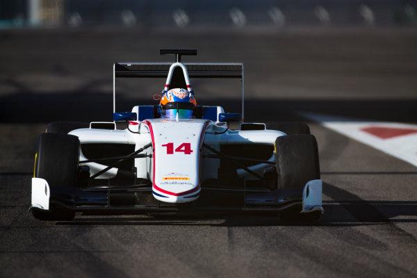 2016 GP3 Series Test 5. Yas Marina Circuit, Abu Dhabi, United Arab Emirates. Wednesday 30 November 2016. Tarun Reddy (IND, Koiranen GP)  Photo: Sam Bloxham/GP3 Series Media Service. ref: Digital Image _SLA1396