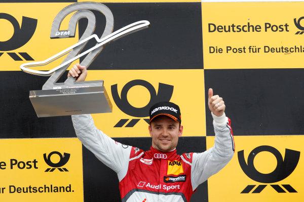 2014 DTM Championship Round 4 - Norisring, Germany 27th - 29th June 2014  Podium, 2nd Jamie Green (GBR) Audi Sport Team Abt Sportsline Audi RS 5 DTM World Copyright: XPB Images / LAT Photographic  ref: Digital Image 3190652_HiRes
