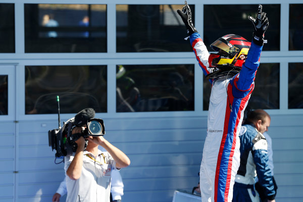 2014 GP3 Series Round 2. Red Bull Ring, Spielberg, Austria. Sunday 22 June 2014. Emil Bernstorff (GBR, Carlin)  Photo: Alastair Staley/GP3 Series Media Service. ref: Digital Image _R6T3444