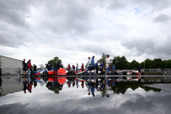 2017 British F4 Championship Oulton Park, 20th-21st May 2017, Parc Ferme  World copyright. JEP/LAT Images