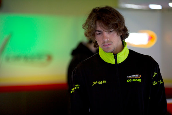 Circuit de Barcelona Catalunya, Barcelona, Spain. Wednesday 15 March 2017. Roberto Merhi (ESP, Campos Racing). Photo: Alastair Staley/FIA Formula 2 ref: Digital Image 585A9041