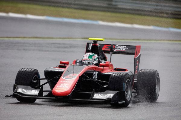 2017 GP3 Series Testing Estoril, Portugal. Wednesday 22 March 2017 Nirei Fukuzumi (JAP, ART Grand Prix). Action.  Photo: Alastair Staley/GP3 Series Media Service ref: Digital Image 585A1301