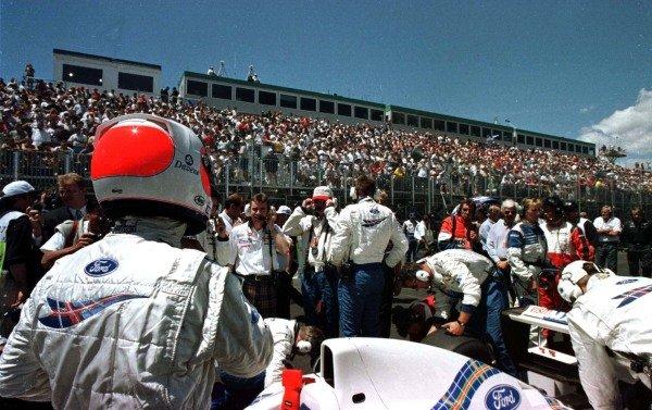 1997 Canadian Grand Prix.Montreal, Quebec, Canada.13-15 June 1997.Rubens Barrichello (Stewart Ford).World Copyright - LAT Photographic