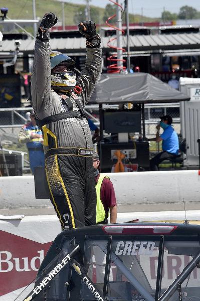 #2: Sheldon Creed, GMS Racing, Chevrolet Silverado Chevy Accessories wins