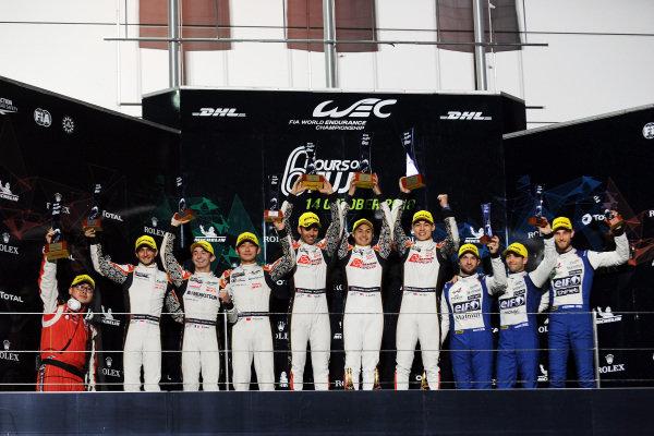 P2 Podium, #37 Jackie Chan DC Racing Oreca 07 Gibson: Jazeman Jaafar, Weiron Tan, Nabil Jeffri wins