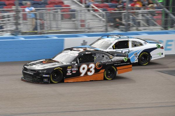 #93: Josh Bilicki, RSS Racing, Chevrolet Camaro RSS Racing and #35: Joey Gase, Motorsports Business Management, Toyota Supra Donate Life Arizona