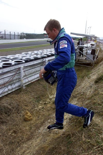 Kimi Raikkonen(FIN) Sauber Petronas C20 Japanese Grand Prix, Suzuka 14 October 2001. DIGITAL IMAGE