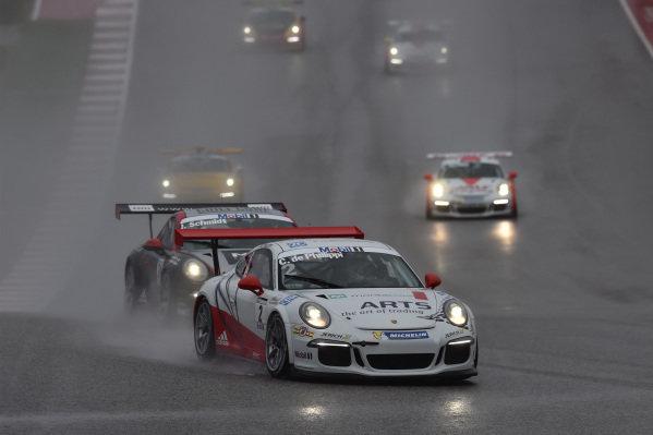 Connor de Phillippi (USA) VERVA Lechner Racing Team at Porsche Supercup, Rd8, Austin, Texas, USA, 23-25 October 2015.