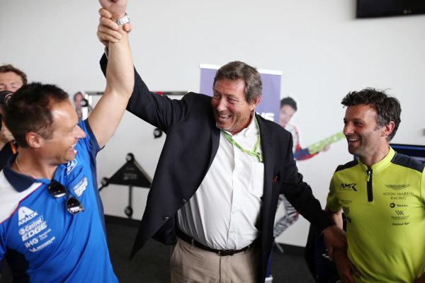 FIA WEC Esport Launch, Andy Priaulx, Gerard Nevau and Darren Turner