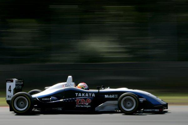2007 Zandvoort Masters of Formula Three.Zolder, Belgium. 4th and 5th August 2007.Kamui Kobayashi (ASM F3).Action.World Copyright: Drew Gibson/LAT