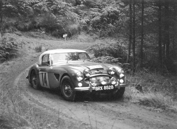 8th - 15th November 1964.Timo Makinen/Don Barrow, Austin-Healey 3000, 1st position in GT Class, action.World Copyright: LAT Photographic.ref: L64/377-12