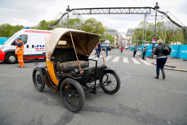 Race. Electric Bugatti. Paris e-Prix,  Paris, France, Europe. Saturday 23 April 2016 Photo: Adam Warner /LAT/FE ref: Digital Image _L5R7120