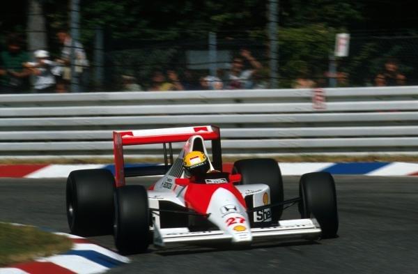 German GP, Hockenheim, Germany, 29 July 1990
