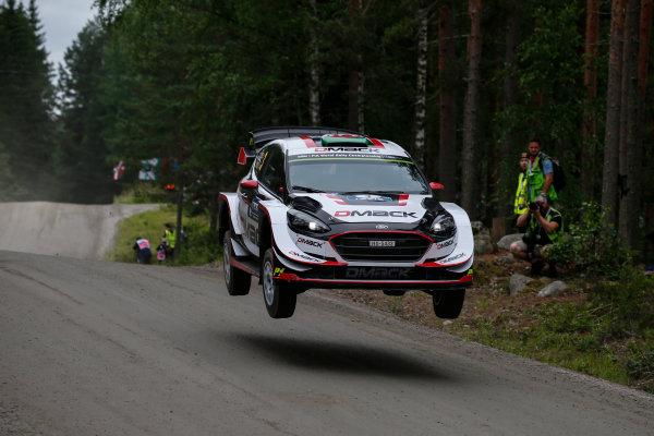 2017 FIA World Rally Championship, Round 09, Rally Finland / July 27 - 30, 2017, Elfyn Evans, Ford WRC, Action  Worldwide Copyright: McKlein/LAT