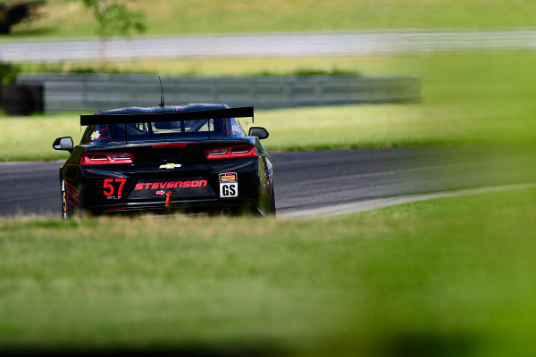 IMSA Continental Tire SportsCar Challenge Lime Rock Park 120 Lime Rock Park, Lakeville, CT USA Friday 21 July 2017 57, Chevrolet, Chevrolet Camaro GT4.R, GS, Matt Bell, Robin Liddell World Copyright: Gavin Baker LAT Images