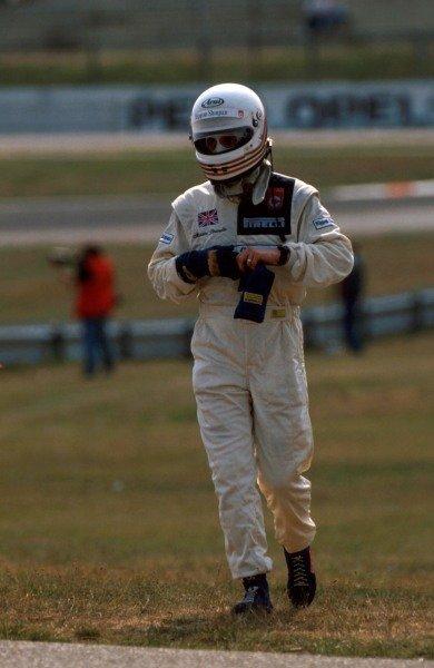 Martin Brundle (GBR) Brabham BT58, 8th place.German Grand Prix, Hockenheim, 30 July 1989