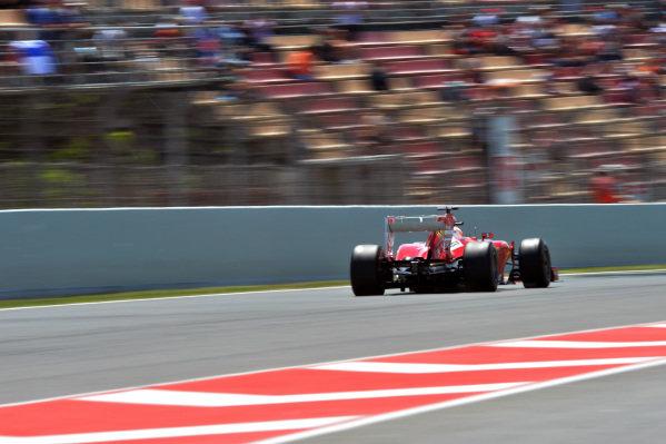 Fernando Alonso (ESP) Ferrari F138. Formula One World Championship, Rd5, Spanish Grand Prix, Practice, Barcelona, Spain, Friday 10 May 2013.  BEST IMAGE