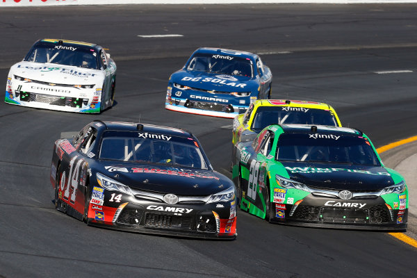 NASCAR XFINITY Series Overton?s 200 New Hampshire Motor Speedway, Loudon, NH USA Saturday 15 July 2017 JJ Yeley, Superior Essex Toyota Camry and Dakoda Armstrong, JGL Racing Toyota Camry World Copyright: Russell LaBounty LAT Images