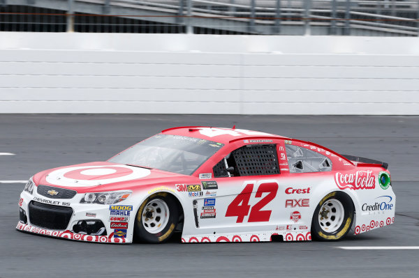 Monster Energy NASCAR Cup Series Overton's 301 New Hampshire Motor Speedway, Loudon, NH USA Friday 14 July 2017 Kyle Larson, Chip Ganassi Racing, Target Chevrolet SS World Copyright: Matthew T. Thacker LAT Images