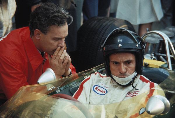 Jim Clark and Keith Duckworth